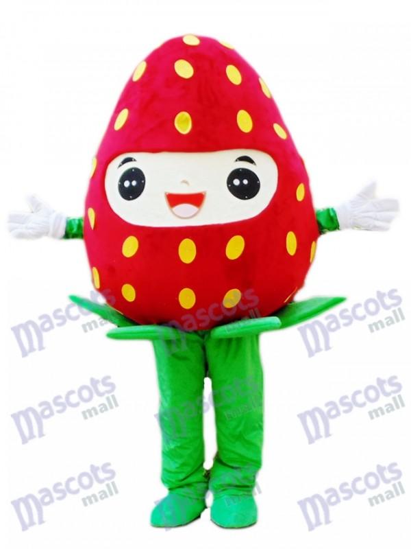 Erdbeer maskottchen-Kostüm Frucht