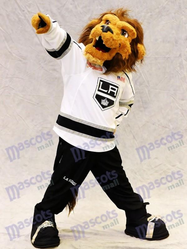 Bailey der Löwe des Los Angeles-Königs-Maskottchen-Kostüms
