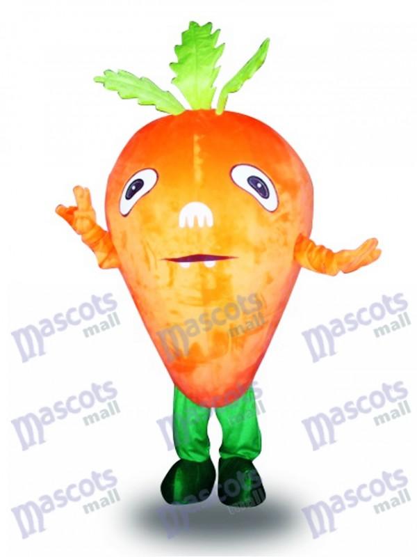 Orange Karotte Gemüse Maskottchen Kostüm Lebensmittel Gemüse