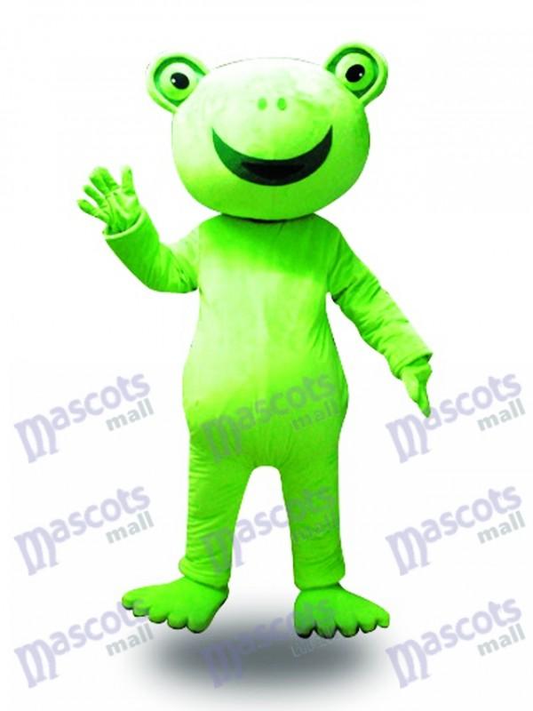 Großes Lächeln Frosch Maskottchen Kostüm Tier