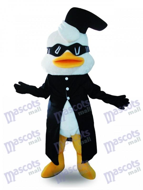 Enten Maskottchen Kostüm mit Brille Tier