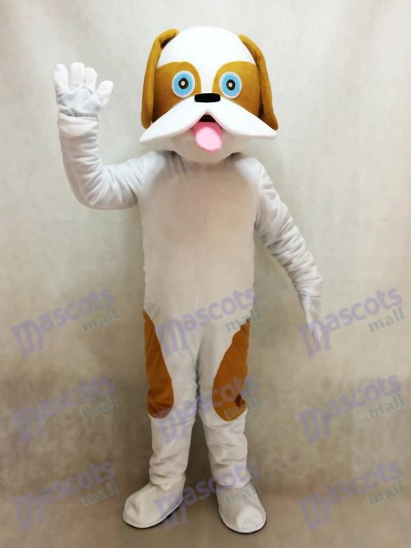 Großes gepunktetes Hundemaskottchen Kostüm