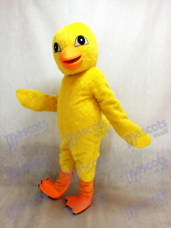 Gelbes Küken Maskottchen Kostüm