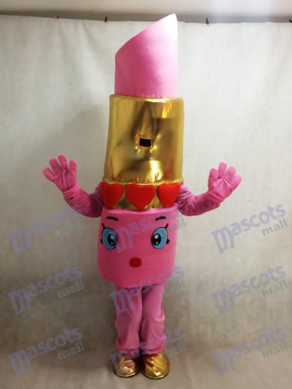 Rosa Shopkins Lippy Lippen Lippenstift Maskottchen Kostüm