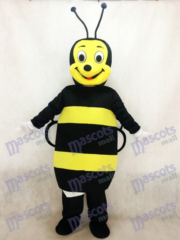Schwarz und Gelb Bee Maskottchen Kostüm Insekt