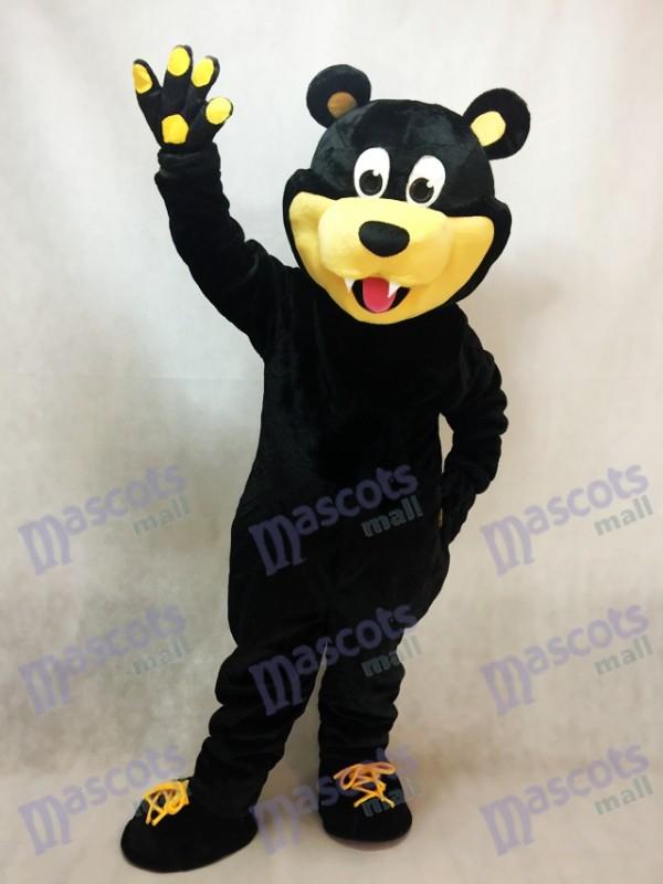 Brown Estevan Bruins tragen kundenspezifisches Eis Maskottchen Kostüm