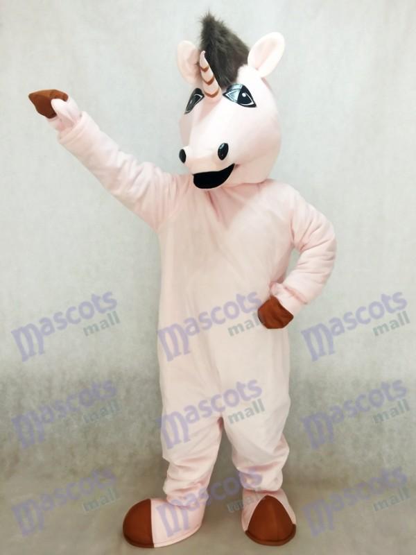 Neues Pink Eunice Einhorn Maskottchen Kostüm
