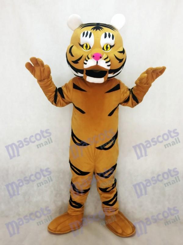 Neues gelb orangees Tiger Ted Maskottchen Kostüm