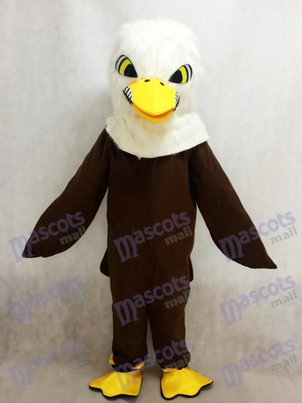 New Brown Feather Adler Maskottchen Erwachsene Kostüm Tier