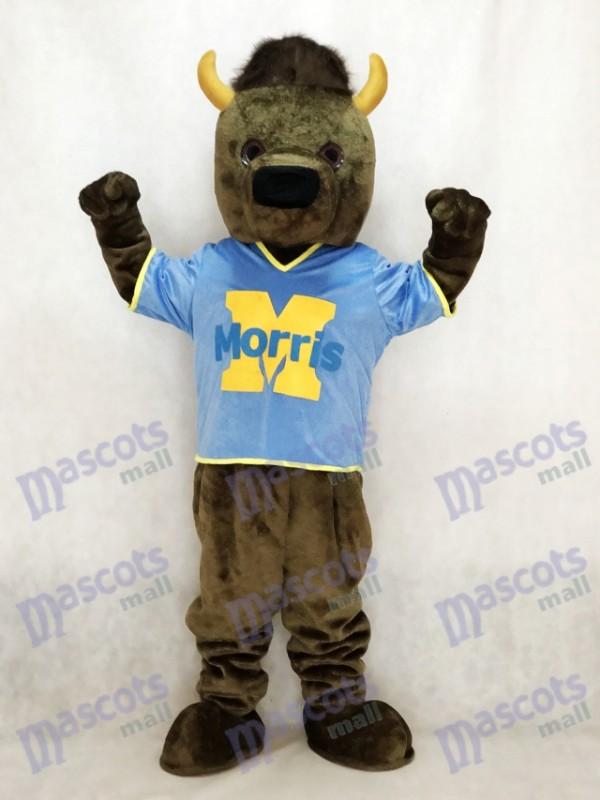 Marshall Thundering Herd Marshall University Marco der Bison Büffel Maskottchen Kostüm