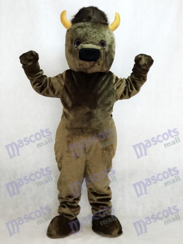 Marshall Thundering Herd Marshall Universität Marco das Bisons Büffel Maskottchen Kostüm