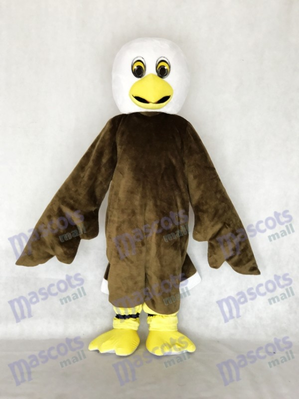 New Brown Baby Weißkopfseeadler Maskottchen Kostüm Tier