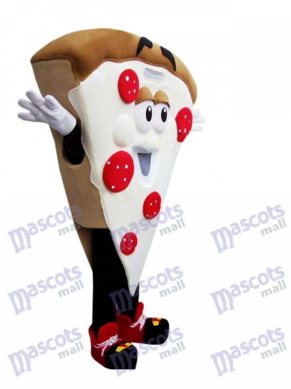 Pizza Slice Maskottchen Kostüm Lebensmittel