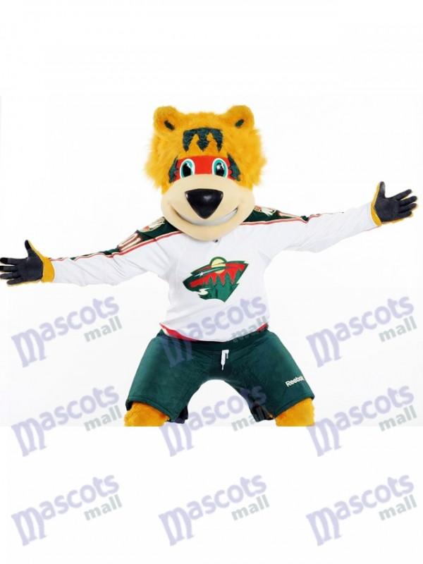 Nordy von Minnesota Wild Maskottchen Kostüm