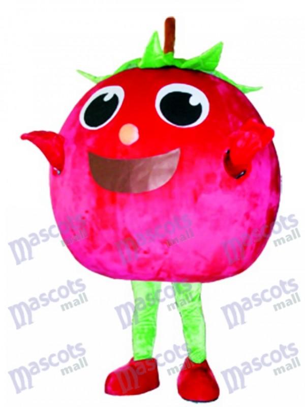 Red Tomato Maskottchen Kostüm Obst Gemüse Lebensmittel