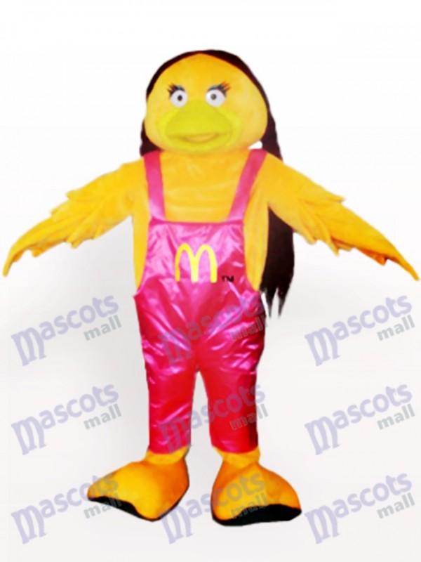 MacDonald Party Maskottchen Kostüm für Erwachsene