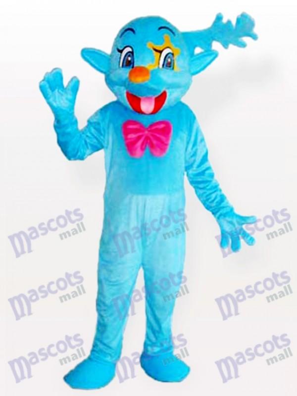 Blue Fairy Maskottchen Kostüm für Erwachsene