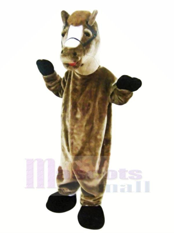 Braun Pferd Maskottchen Kostüme Erwachsene