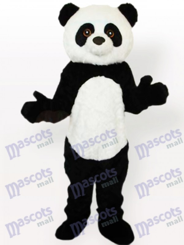 Panda Tier Erwachsene Maskottchen Lustiges Kostüm Typ D