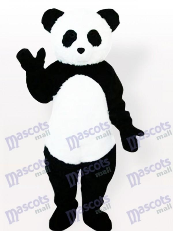 Panda Tier Erwachsene Maskottchen Kostüm Typ F