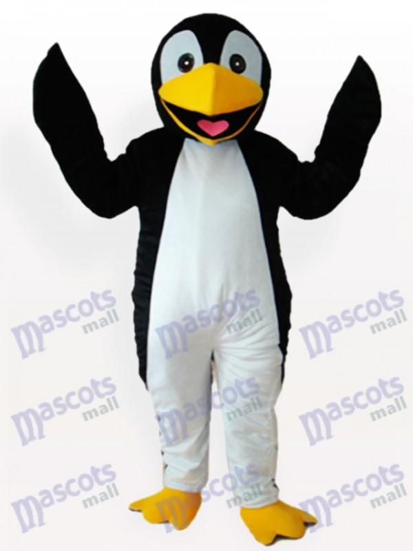 Schwarz Pinguin Erwachsene Maskottchen Lustiges Kostüm