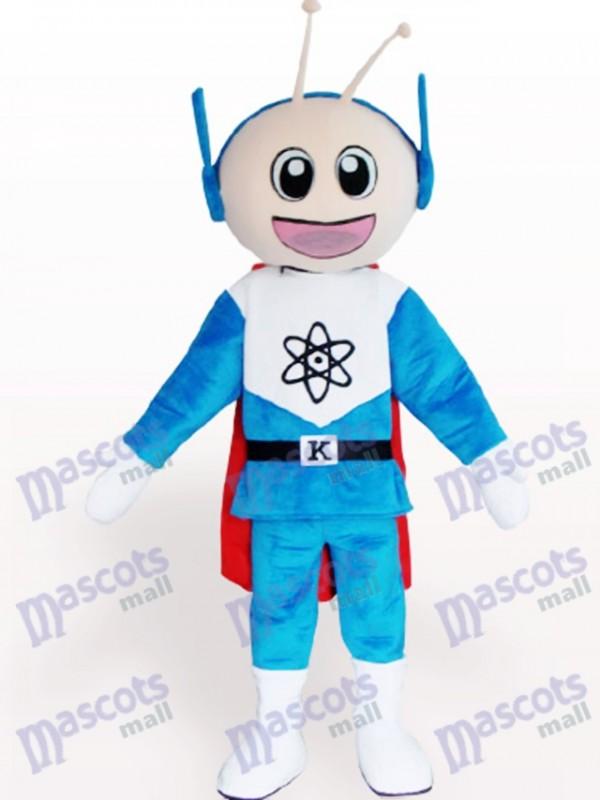 Super Mann Cartoon Maskottchen Kostüm für Erwachsene