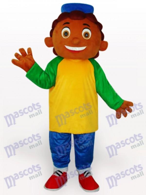 Ananas Junge Cartoon Maskottchen Kostüm für Erwachsene