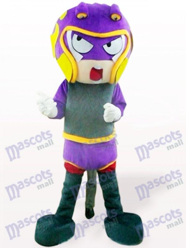 Sharp-Shooter Cartoon Maskottchen Kostüm für Erwachsene