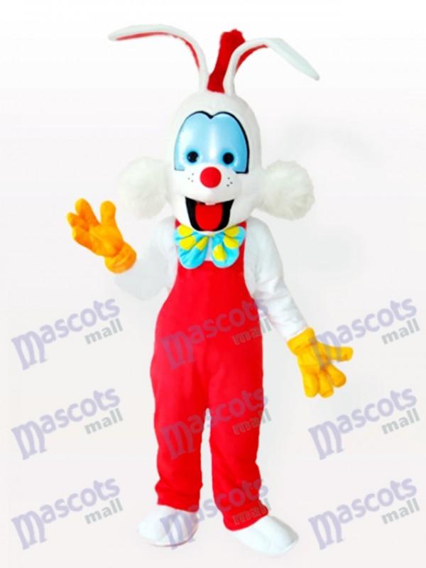 Droll Clown Bunny Maskottchen Kostüm für Erwachsene