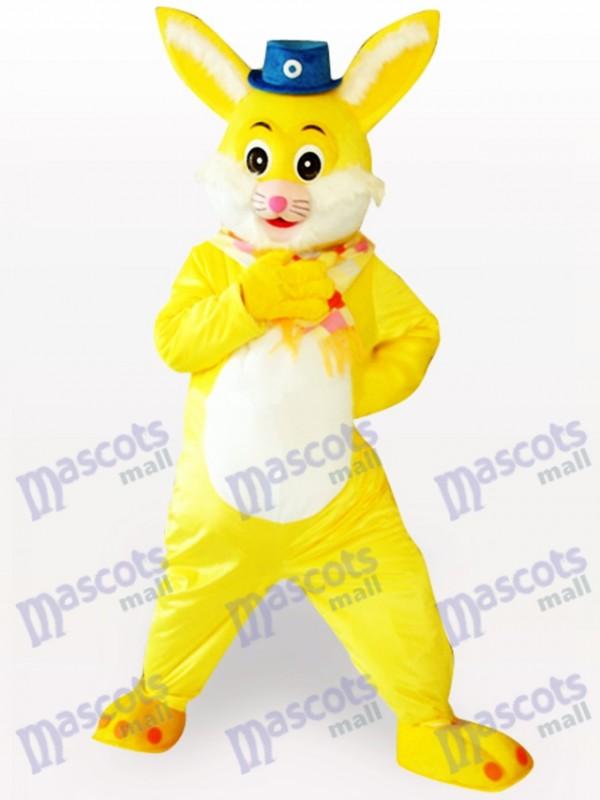Ostern gelbes Kaninchen Tier Maskottchen Kostüm
