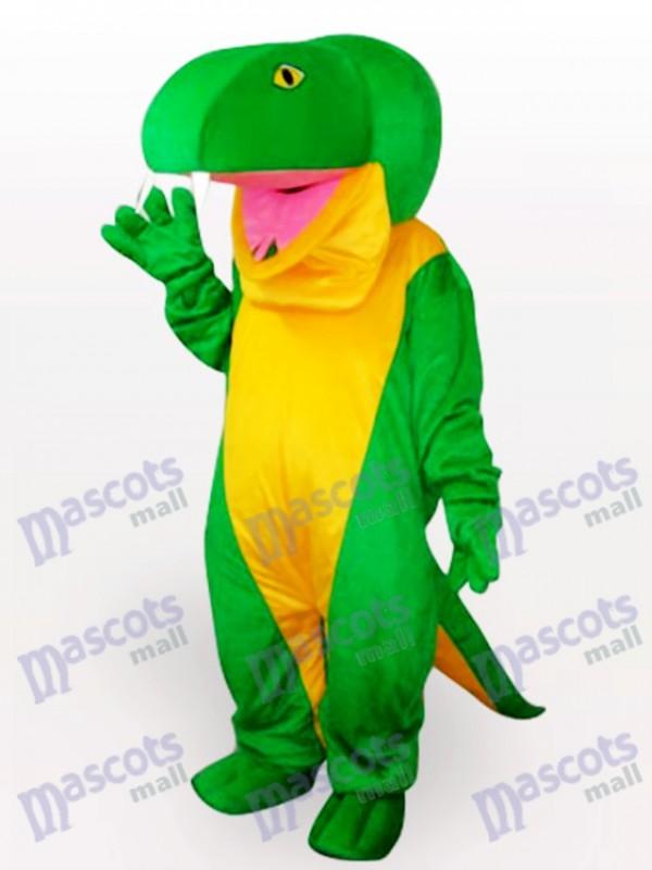 Grüne Schlange Tier Maskottchen Kostüm für Erwachsene