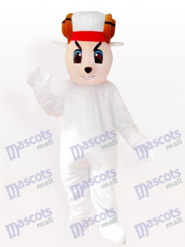 Glückliches Schaf Maskottchen Kostüm