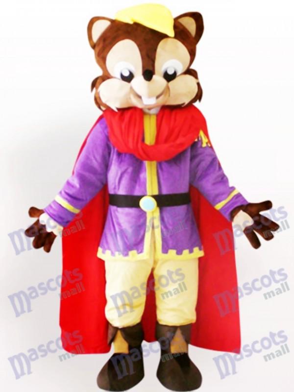 Cooles Eichhörnchen Tier Maskottchen Kostüm für Erwachsene