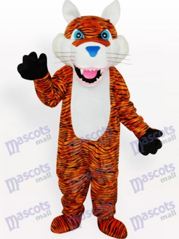 Tiger Tier Maskottchen Kostüm für Erwachsene