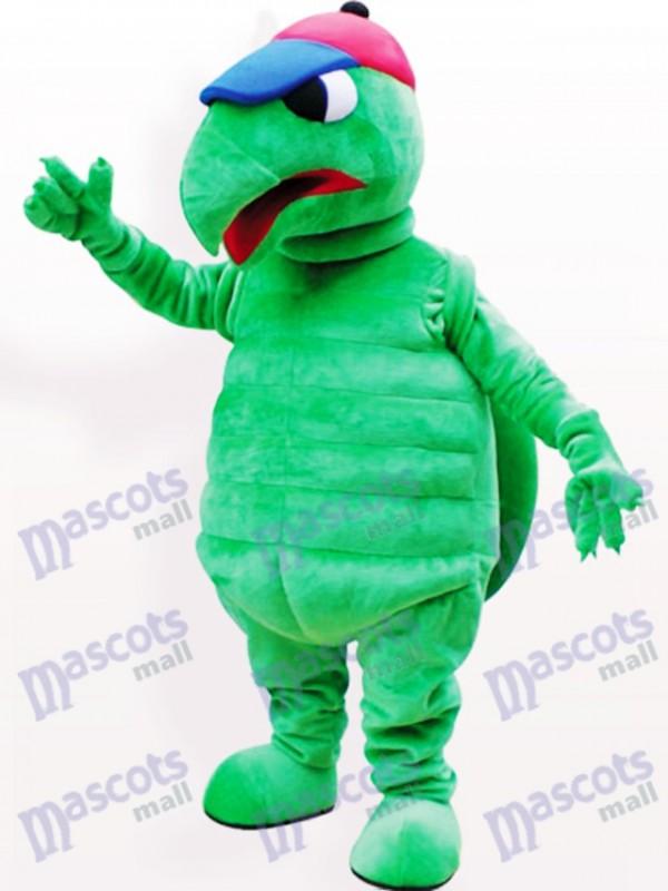 Grüne Schildkröte Tier Maskottchen Lustiges Kostüm