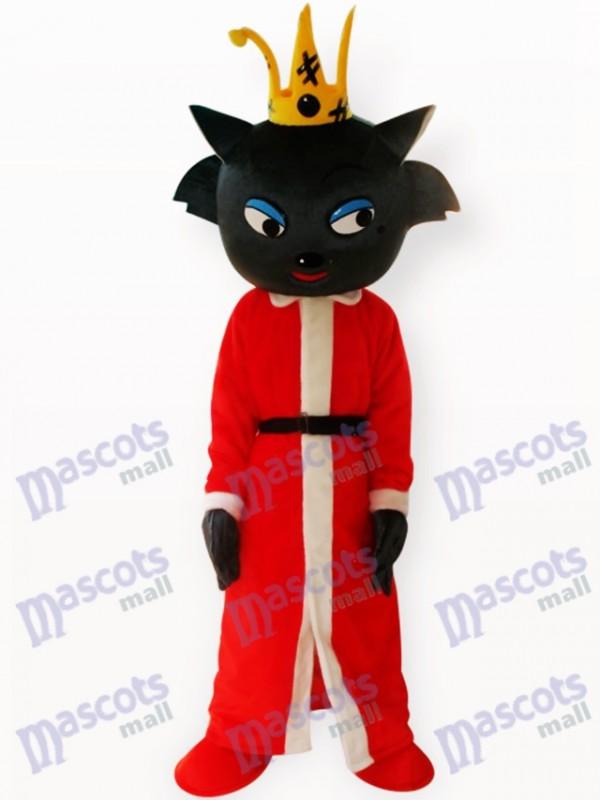 Rot Wolf Tier Maskottchen Kostüm für Erwachsene