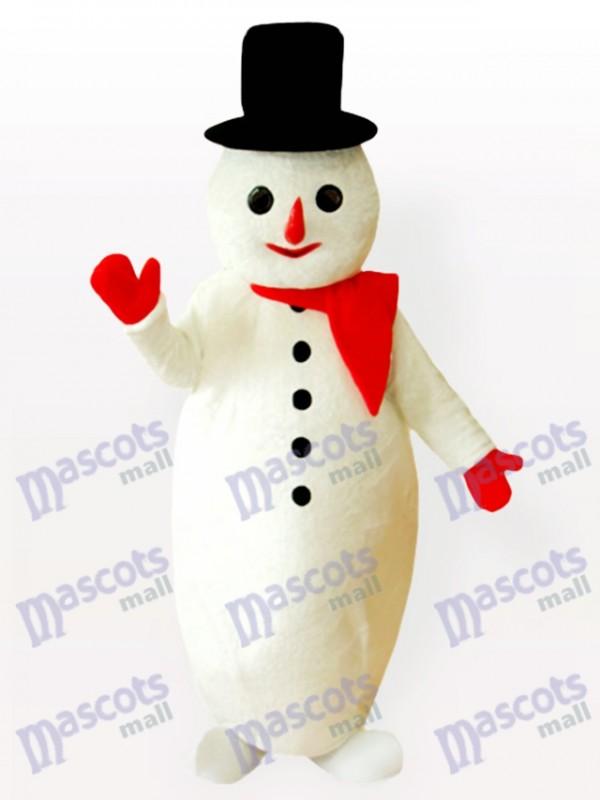 Potbelly Schnee Mann Weihnachten Xmas Maskottchen Kostüm