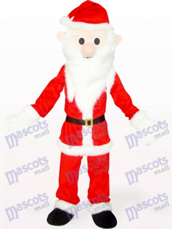 Rote und weiße Weihnachten Xmas Santa Maskottchen Kostüm