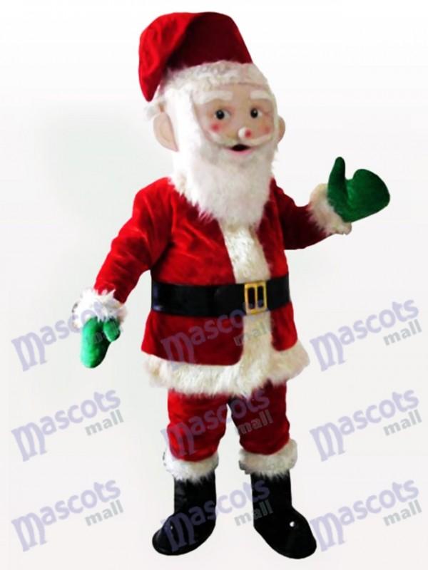Weihnachten Xmas Santa Claus Erwachsenen Maskottchen Kostüm